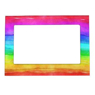 Pride symbol flag giving a discrimination lifesty magnetic photo frame