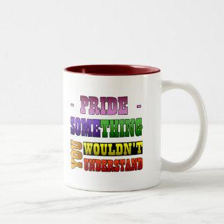 Pride Thing Two-Tone Coffee Mug