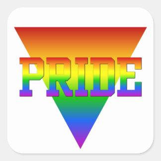 Pride Triangle stickers