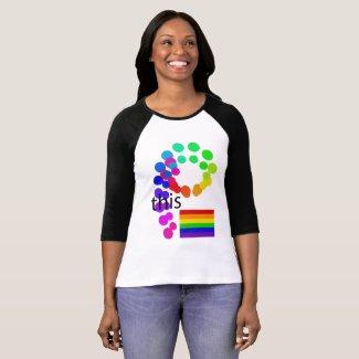 PRIDE Tshirts Rainbow Flag Unity Diversity