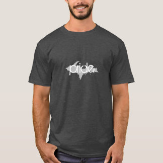 """pride"" Upper Peninsula Michigan Dark Grey t-shirt"