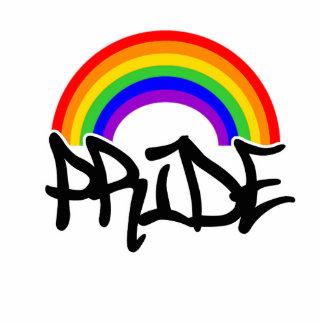 Pride with Rainbow Photo Sculpture
