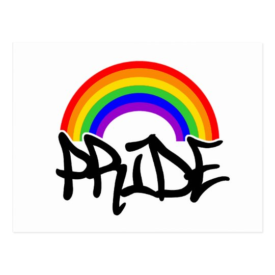 Pride with Rainbow Postcard