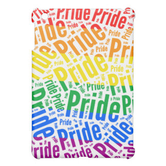 PRIDE WORD PATTERN COLOR -.png Case For The iPad Mini