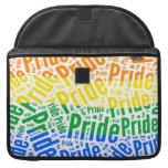 PRIDE WORD PATTERN COLOR -.png Sleeves For MacBook Pro