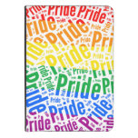 PRIDE WORDS RAINBOW KINDLE TOUCH CASE