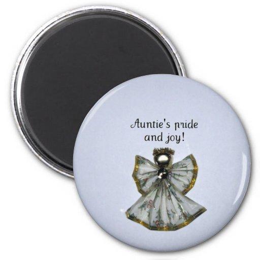 ¡Pride y la alegría de la tía! Iman Para Frigorífico