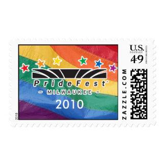 PrideFest Milwaukee 2010 Stamp