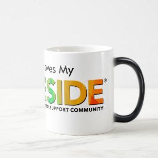 PRIDESIDE® Black/White 11 oz Morphing Mug