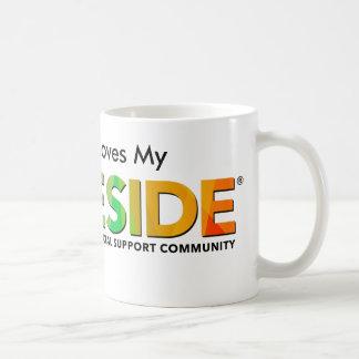 PRIDESIDE® White 11 oz Classic Mug