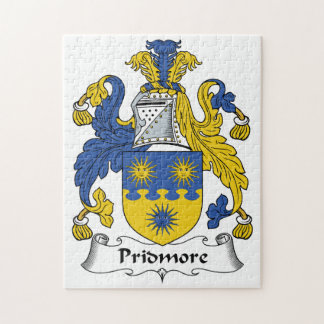 Pridmore Family Crest Jigsaw Puzzle