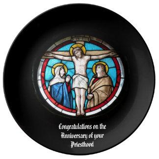 Priest Anniversary 15th 20th 25th 30th 40th 50th Plate