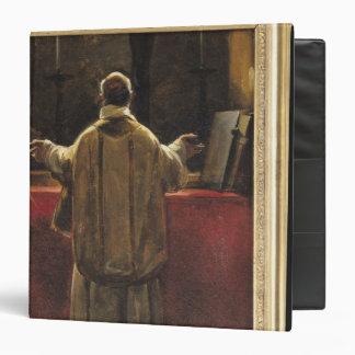 Priest at the Altar Vinyl Binders