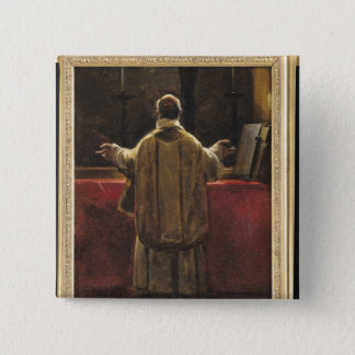 Priest at the Altar Button