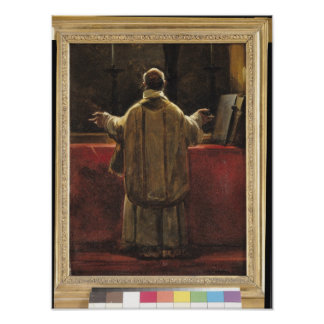 Priest at the Altar Posters