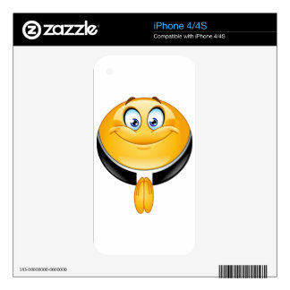 priest emoji decals for the iPhone 4