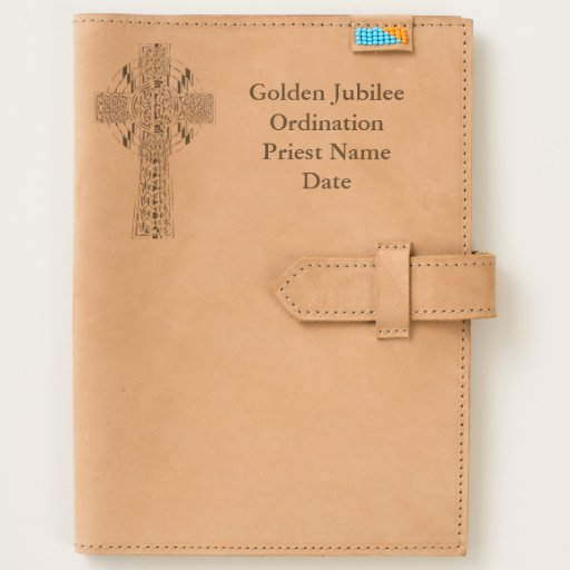 Priest Gift Golden Jubilee Personalized Journal