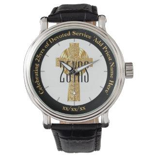 Priest Gift Ordination Anniversary Commemorative Wrist Watch