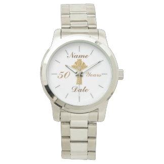 Priest Golden Jubilee 50th Personalized Watch