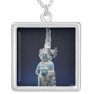 Priest in ceremonial robes, Isle of Jaina Silver Plated Necklace