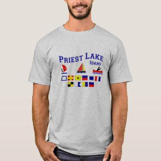 Priest Lake ID Signal Flags T-Shirt