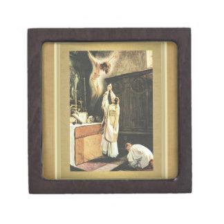 "Priest offering Catholic Mass Box GIFT (2"" x 2"")"