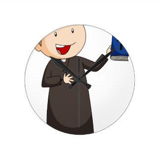 Priest Round Clocks