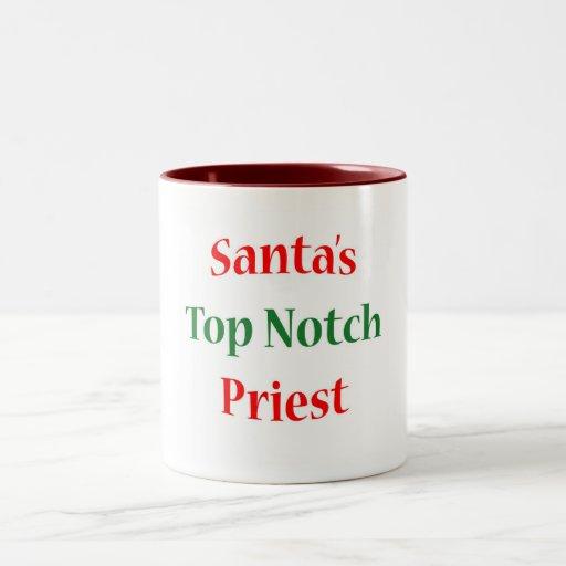 Priest Top Notch Coffee Mug