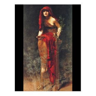 Priestess of Delphi Postcard
