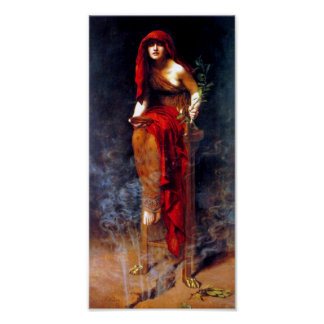 Priestess of Delphi ~ Poster