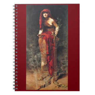 Priestess of Delphi Pre-Raphaelite Notebook