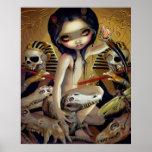 Priestess of Nyarlathotep ART PRINT egypt gothic
