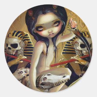 """Priestess of Nyarlathotep"" Sticker"