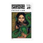 """""""Priestess of Quetzalcoatl"""" Stamp"""