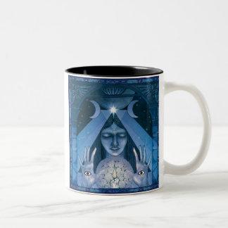 Priestess Two-Tone Coffee Mug