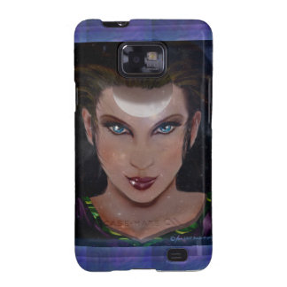 Priestess Upright Crescent Samsung Galaxy S2 Cases
