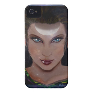 Priestess Upright Crescent iPhone 4 Cover