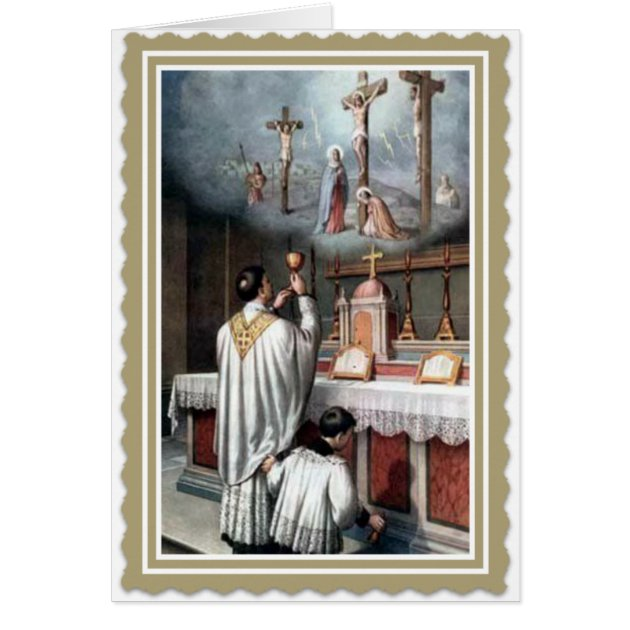 Priesthood anniversary ordination jesus card zazzle