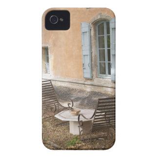 Prieure de St Jean de Bebian. Región de Pezenas iPhone 4 Case-Mate Cobertura