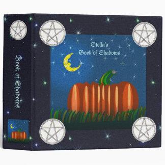 Prim Autumn Pumpkin & Pentacle Book of Shadows Binder