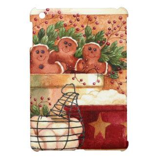 Prim Gingerbread Bowl iPad Mini Cover