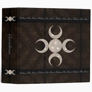 Prim Moon Design Book of Shadows 3 Ring Binder