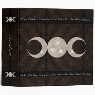 Prim Moon Design Book of Shadows Binder