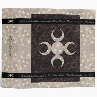 Prim Moon Design Book of Shadows Lg. Binder