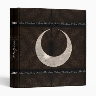 Prim Moon Design Book of Shadows Sml. 3 Ring Binder