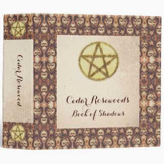 Prim Pentacle Book of Shadows Binder