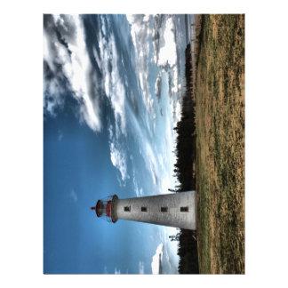 Prim Point Lighthouse Letterhead