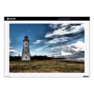 "Prim Point Lighthouse Skin For 17"" Laptop"
