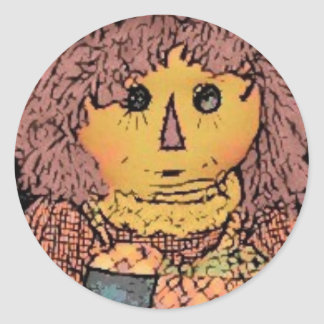 Prim Rag Doll Stickers