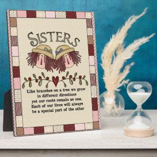 Prim Sisters Poem Plaque